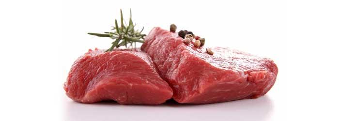 mäso - kalorické tabuľky