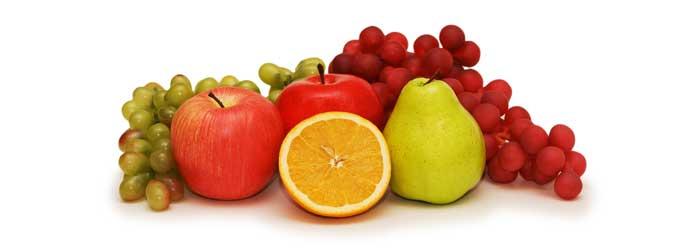 ovocie - kalorické tabuľky