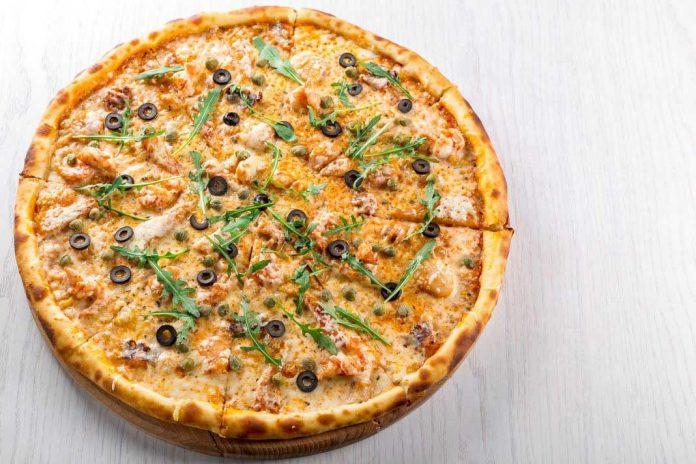 zdrava pizza