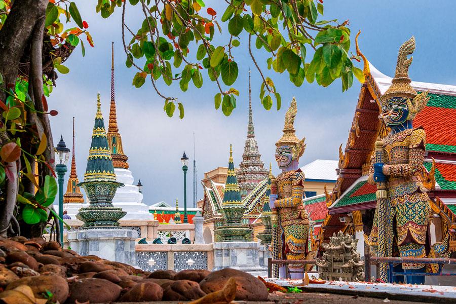 Thajská masáž Bangkok sex