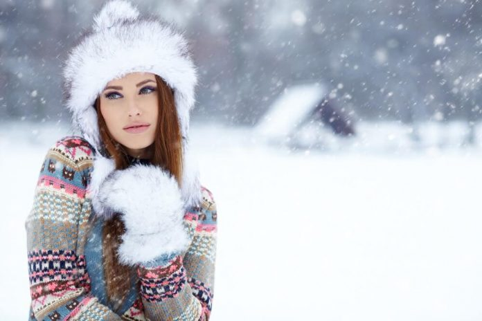 štýlová sexi zima outfit