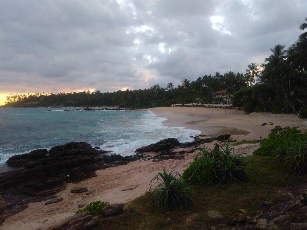 Pláž v Goyambokke.