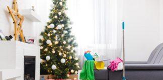 pri vianočnom upratovaní